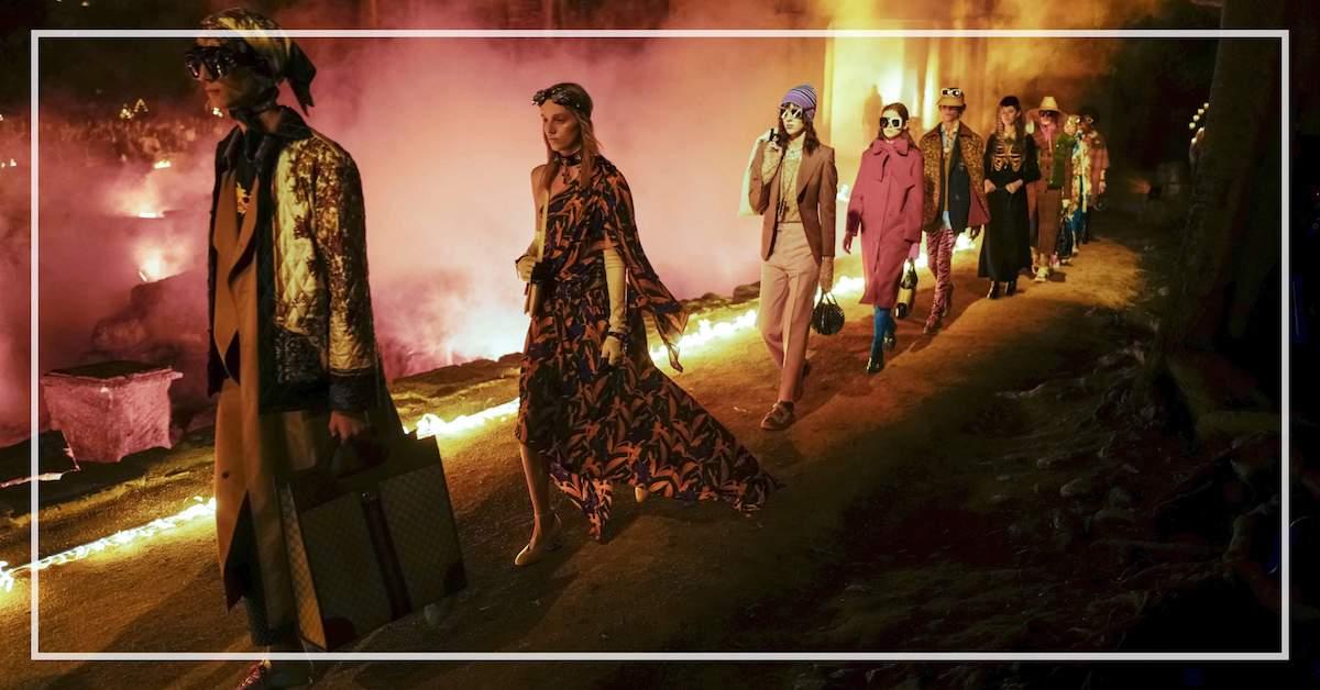 在墳墓裡燃起時尚魂,用 Gucci 2019 早春讓死亡像是一場美麗的盛宴