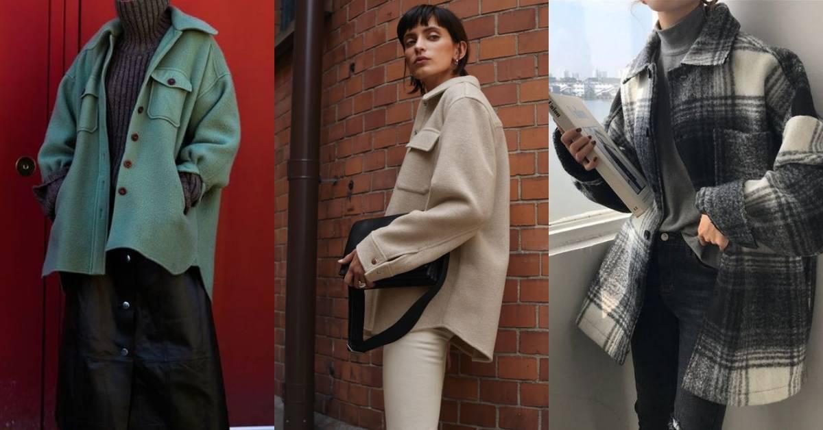 嫌西裝外套太老派?可正式又能休閒的「襯衫外套」才是衣櫃裡的必備款!