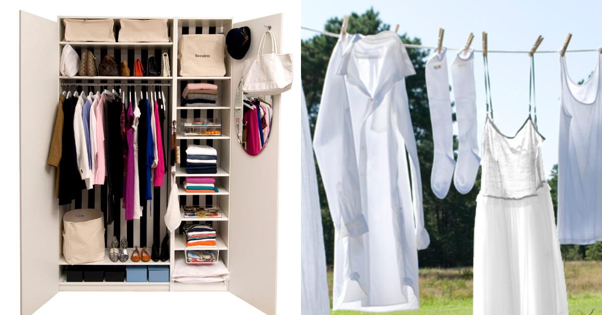 連洗衣機都洗不掉的臭味怎麼辦?這5招教你夏日依舊香噴噴