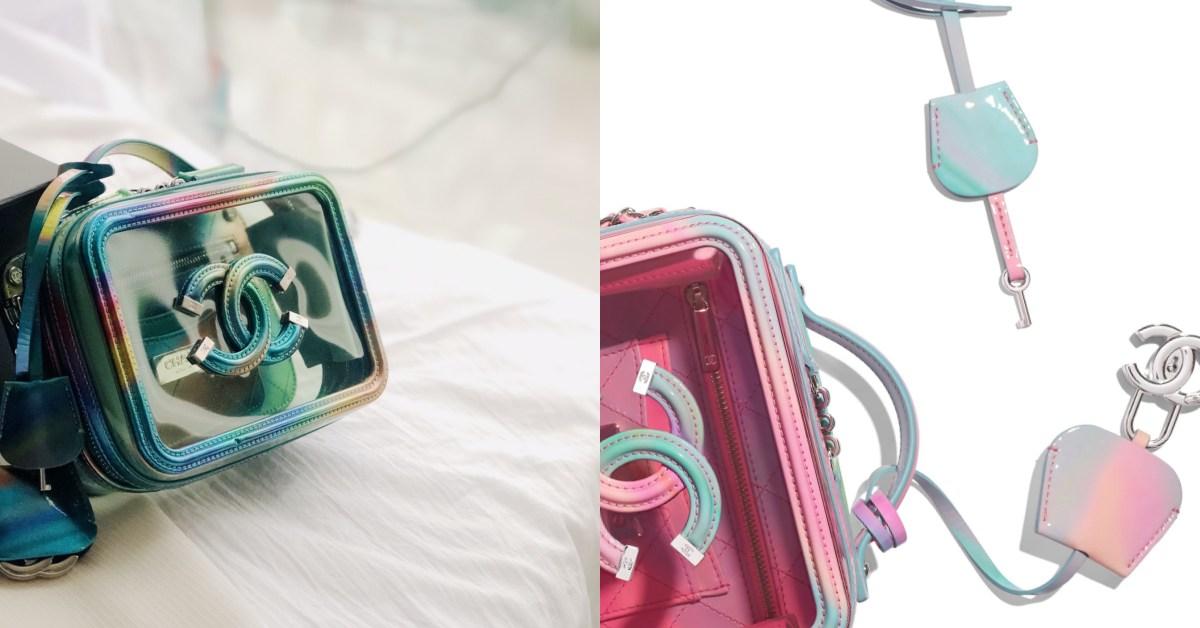 Chanel霓光色系包款真的太夢幻!獨角獸配色搭配經典Logo鎖頭真的美到太犯規!