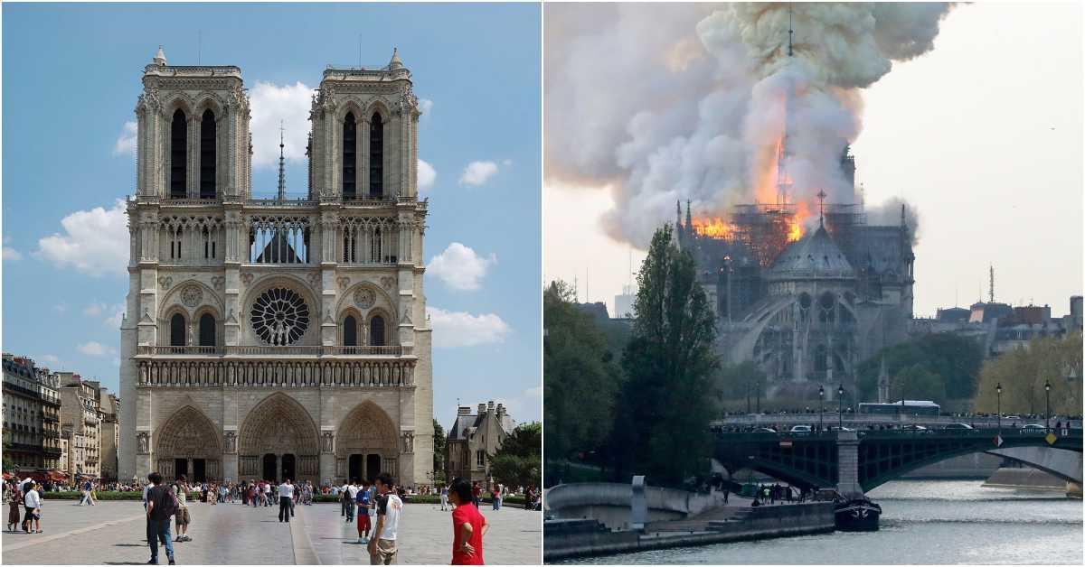 「巴黎聖母院」躲過二戰卻在修繕遭大火吞噬!Gucci老闆心痛宣佈金援重建