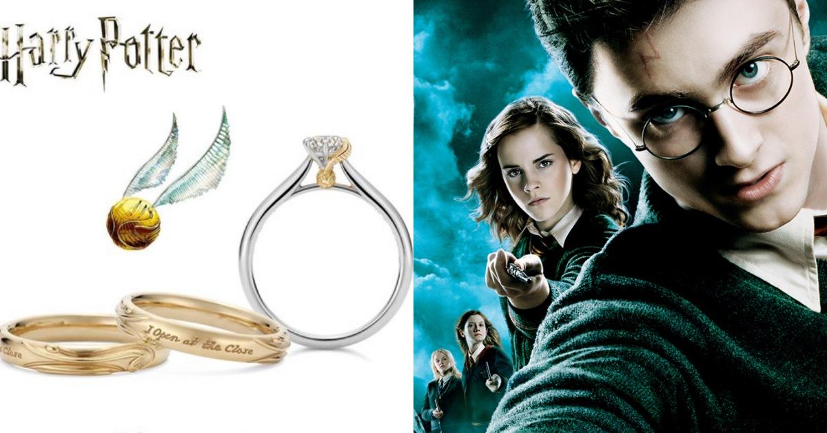 屬於麻瓜們的金探子密語~珠寶品牌與「哈利波特」聯名打造與眾不同的超夢幻戒指!