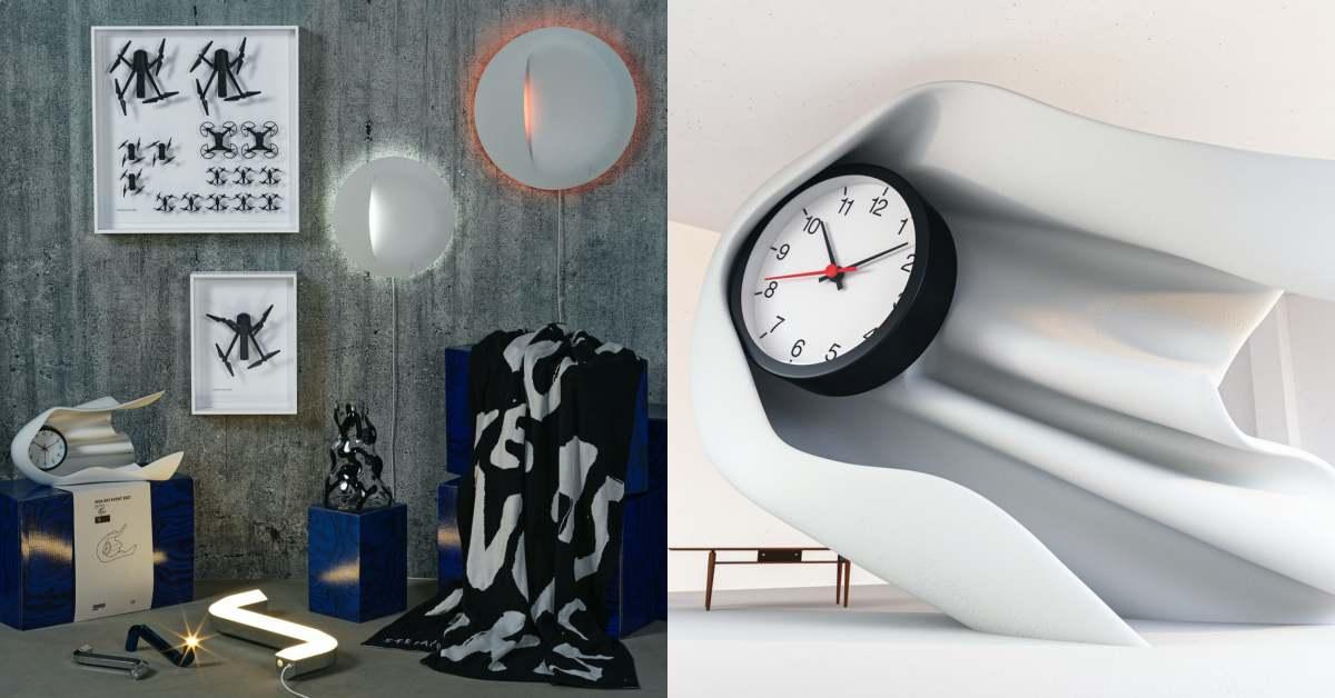 Ikea聯名2021秒殺款4/1開搶!Dior合作藝術家Daniel Arsham時鐘只要千元!10樣產品價錢、品項大公開
