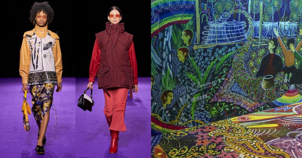 法國時尚跟秘魯文化能擦出什麼火花?2019秋冬看KENZO為我們帶來不一樣的時尚大秀