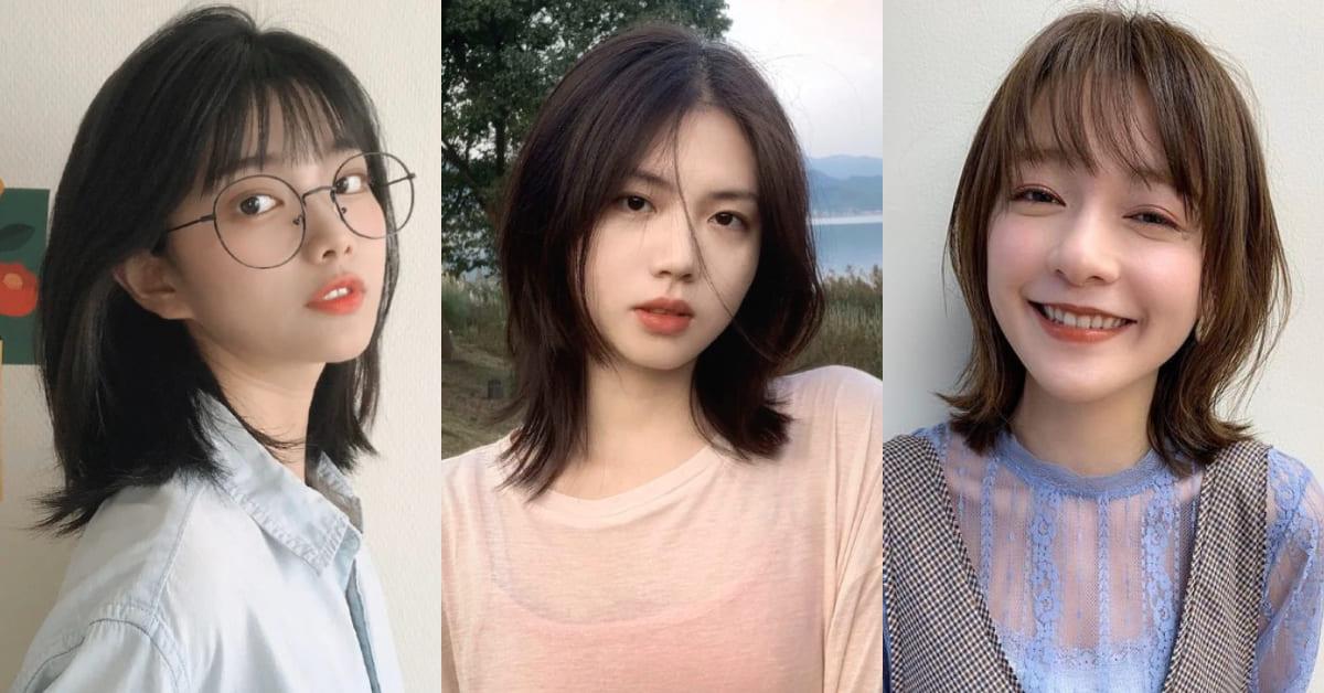 長髮妹也會愛的短髮造型!2020俏皮「桃花剪」中短髮推薦,背殺指數瞬間破200%
