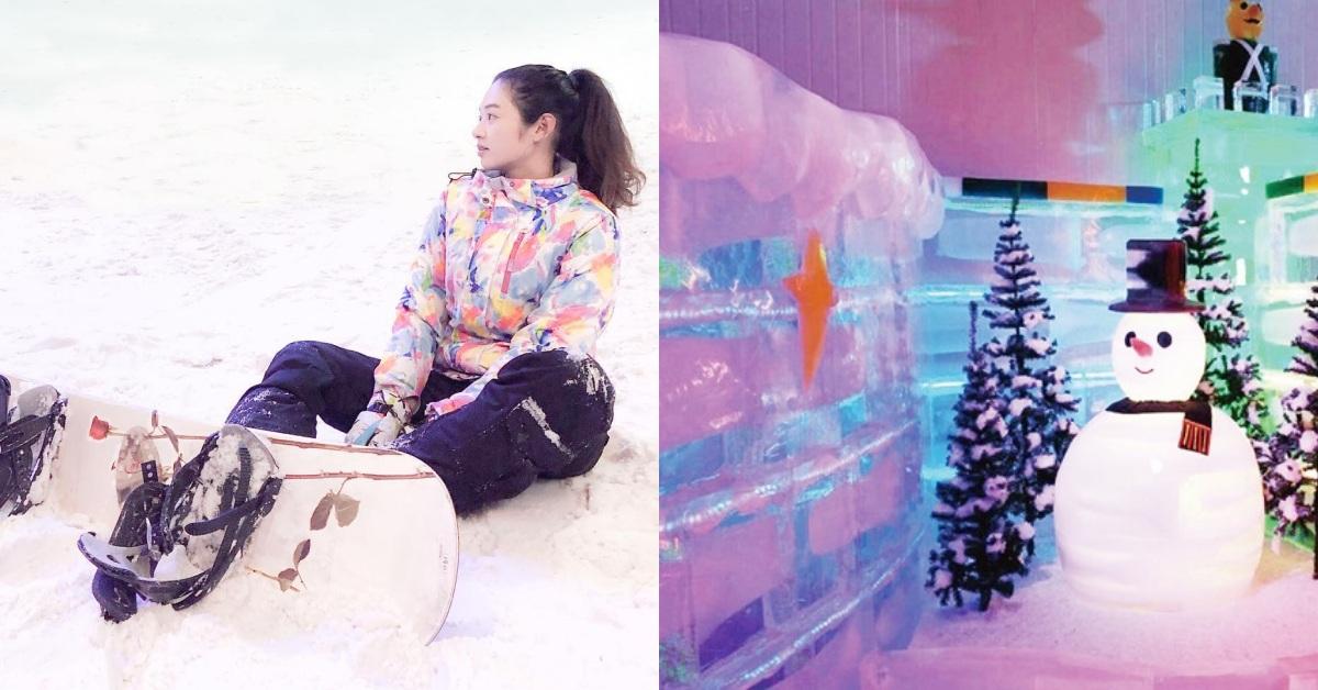 全台4間「冰雪樂園」推薦!夏天出遊就去玩雪球、堆雪人,一秒走進北極圈