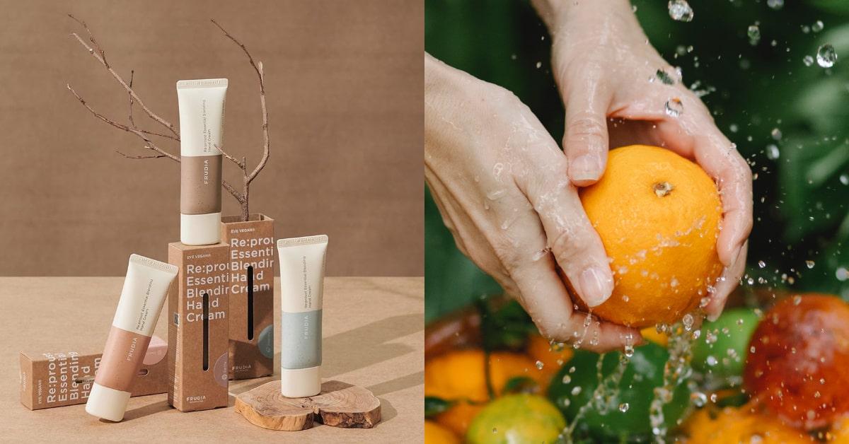 水果保養品牌風靡亞洲!2021韓國FRUDIA護手霜,3種精華給肌膚「植」感享受!