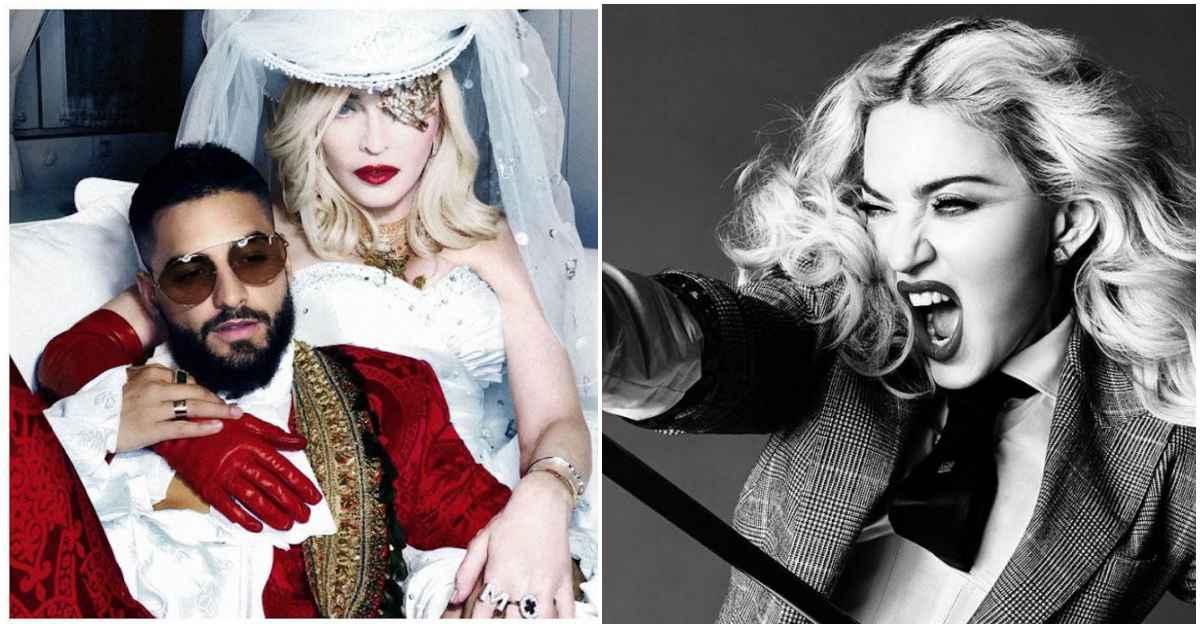 瑪丹娜年過60依然火辣!新歌〈Medellín〉與西班牙鮮肉歌手滾床挑戰性感禁忌