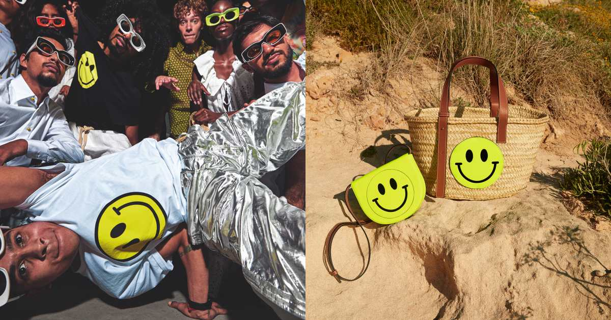 Loewe包包再增新成員,Smiley笑臉系列絕對是全球最紅Emoji!