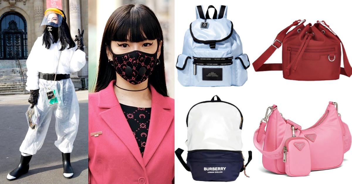 防疫首選「尼龍包」!Prada、Longchamp、Marc Jacobs...時尚內行人都偷偷在揹