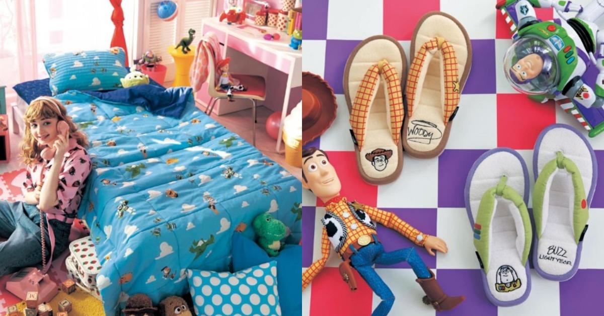 迪士尼控必備!《玩具總動員》化身寢具,巴斯光年拖鞋、蛋頭先生床組好生火