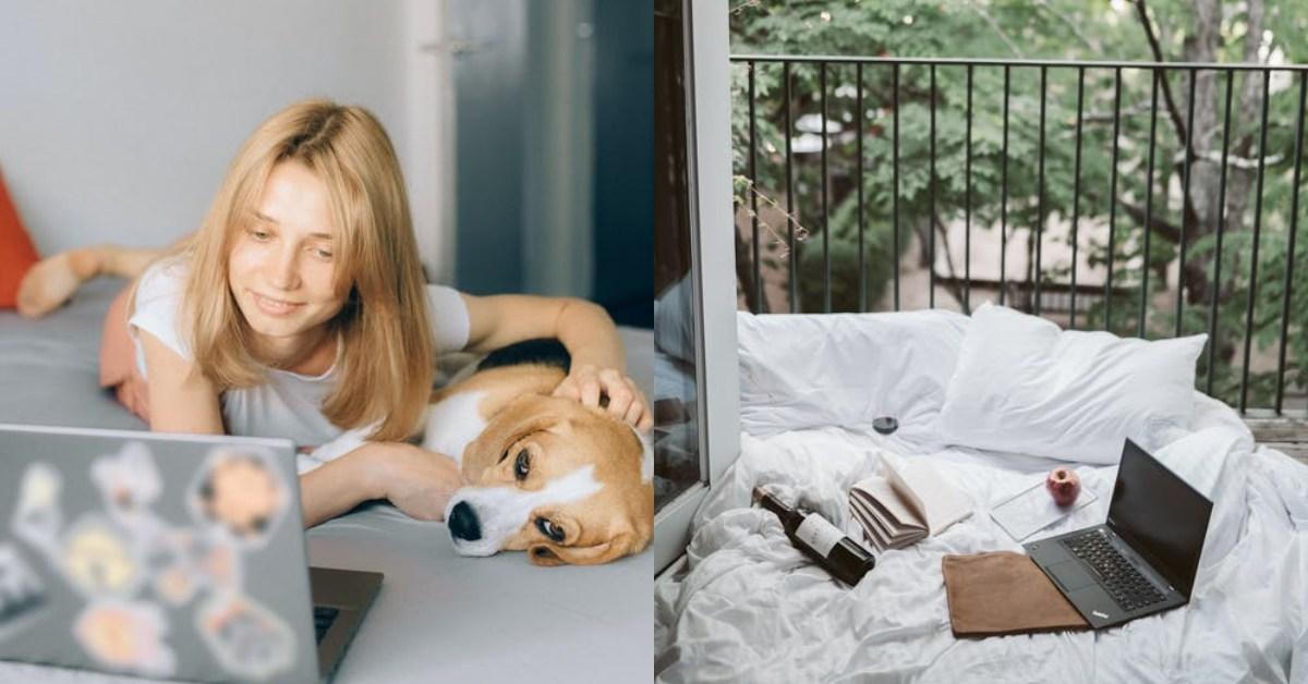 疫情升溫,72% 上班族曾在「床」辦公!對睡眠品質、身體有何影響?