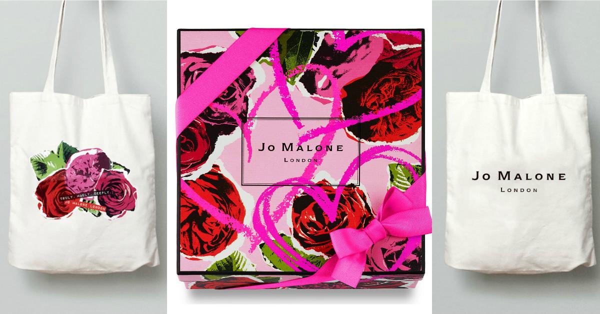 情人節禮物就是它了!JO MALONE推出好文青的托特袋包裝!香水給我,袋子就送給男友吧!