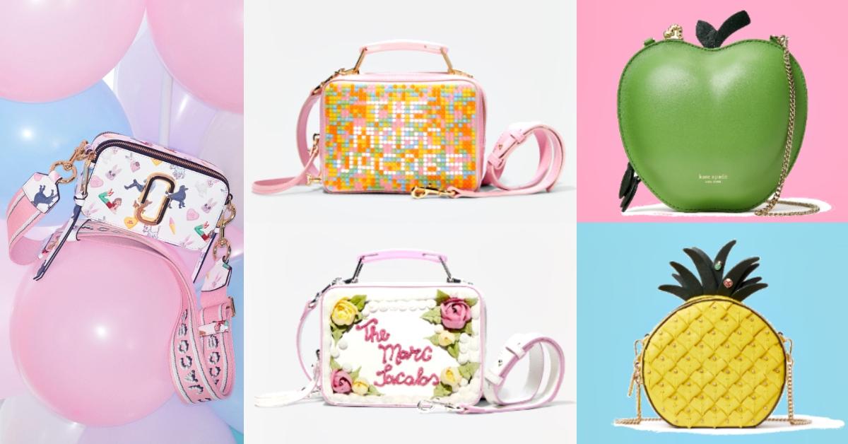 2020夏季用「水果蛋糕系」美包刷爆IG!Marc Jacobs、 Kate Spade...狙擊你的少女心