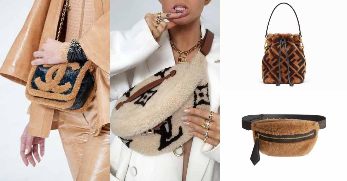 2019年秋冬包包要毛茸茸才時尚!LV、Chanel、Coach到MaxMara全都搶推泰迪熊包?