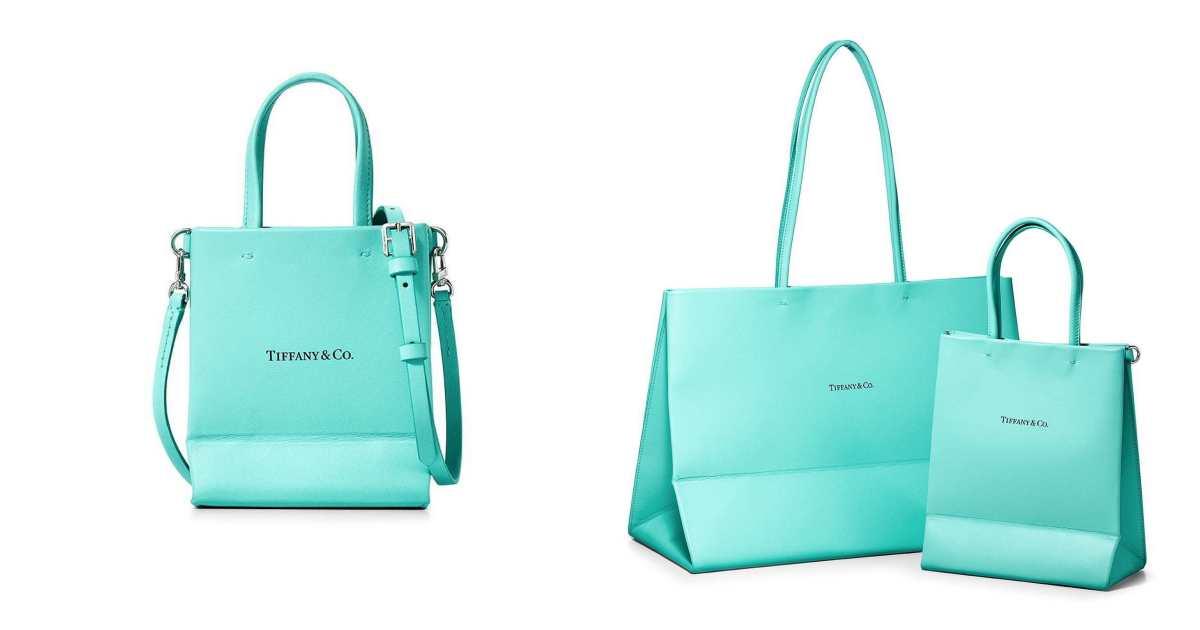 Tiffany購物袋變成包,2020下半年最強IT Bag絕對榜上有名!
