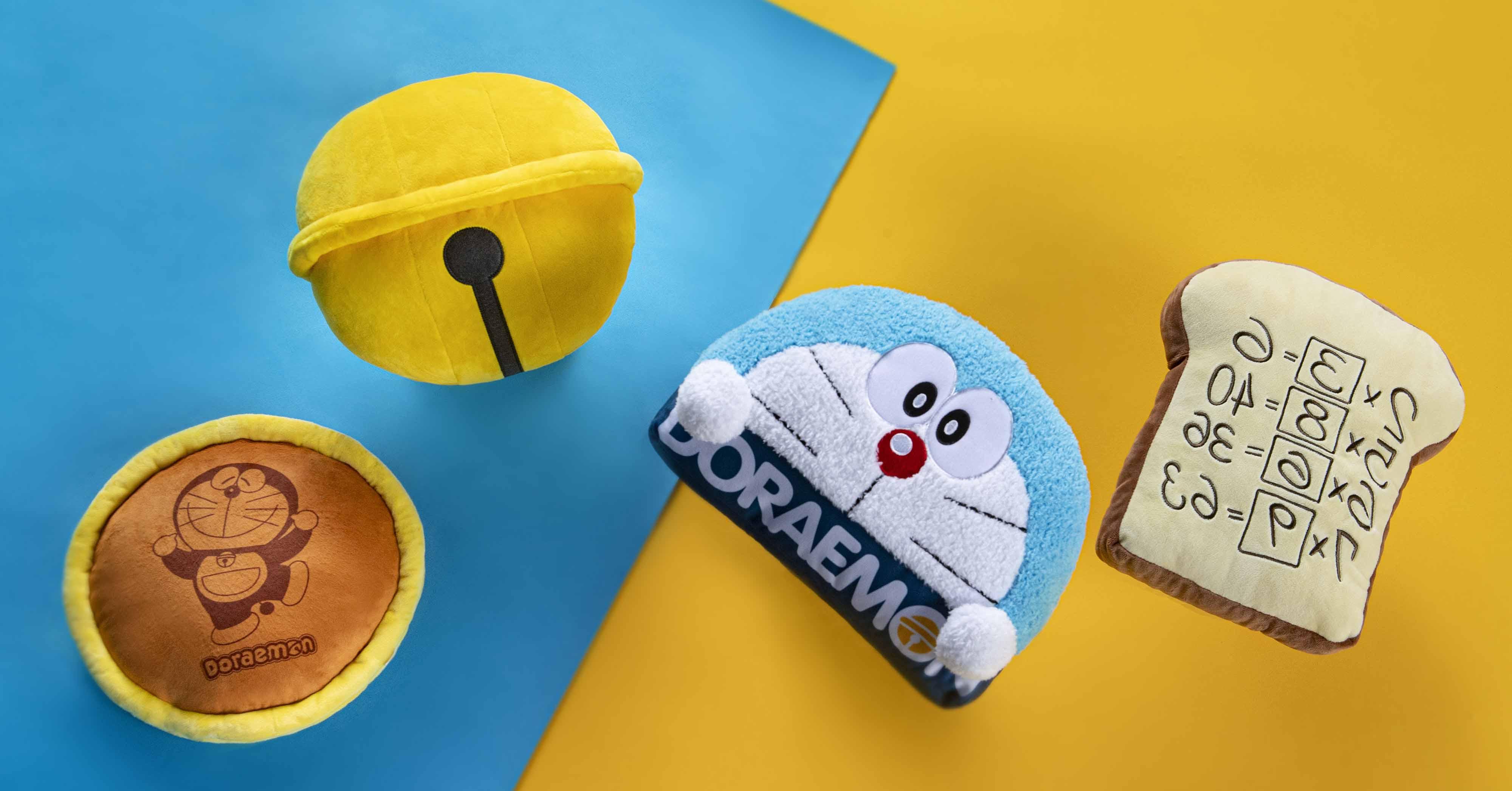 哆啦A夢50週年!麥當勞推出4款超限量秒殺「經典道具抱枕」,開賣時間別再錯過~
