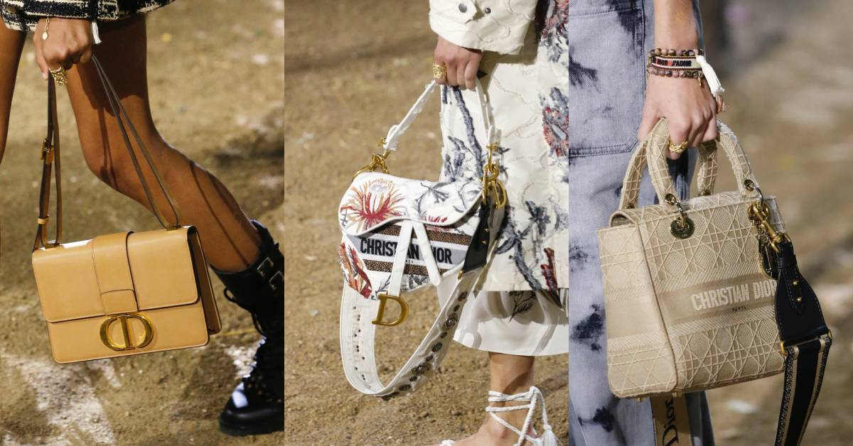 馬鞍包、蒙恬包、黛妃包都換新裝?Dior 2020春夏大秀是場夢幻包款購物清單!