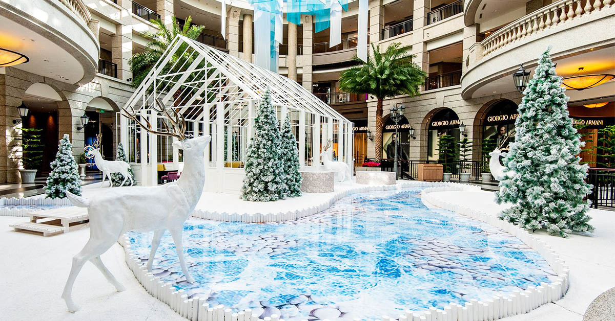 Bellavita今年聖誕節飄北歐風!麋鹿、玻璃屋讓你拍個夠