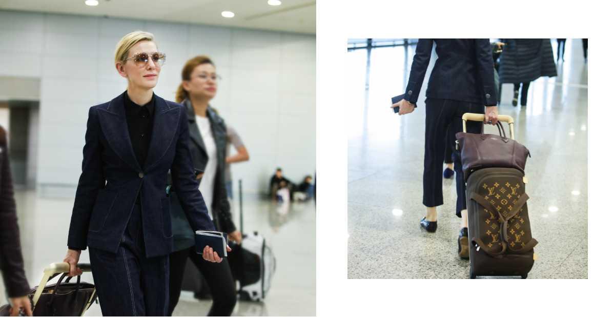 凱特布蘭琪、吳亦凡的機場時尚都靠它!LV登機箱讓你出國像走伸展台