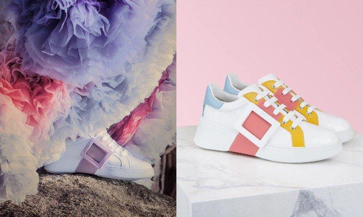 Roger Viver方釦鞋女明星人手一雙,2020秋冬「小白鞋」鐵定也大賣