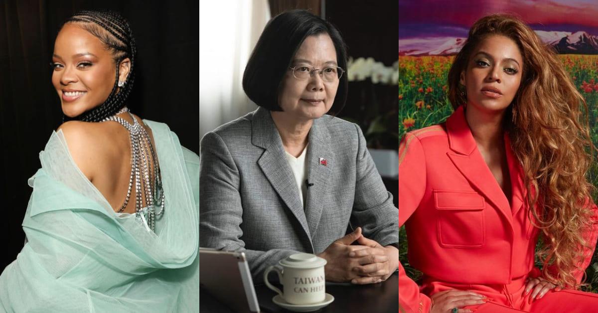 蔡英文入選「2020年百大最具影響力女性」,德國總理梅克爾蟬聯榜首,排名狠甩蕾哈娜、碧昂絲