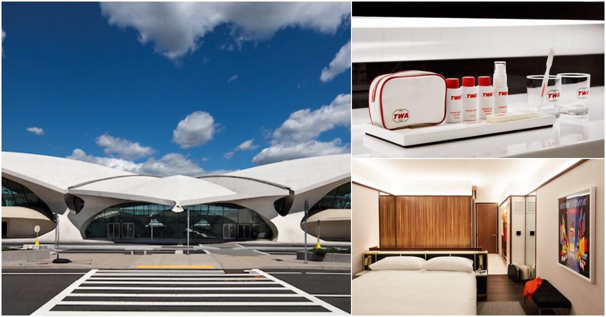 住進LV秀場裡?一房難求的「環球航空飛行中心」TWA飯店正式開張!連備品都可愛極了