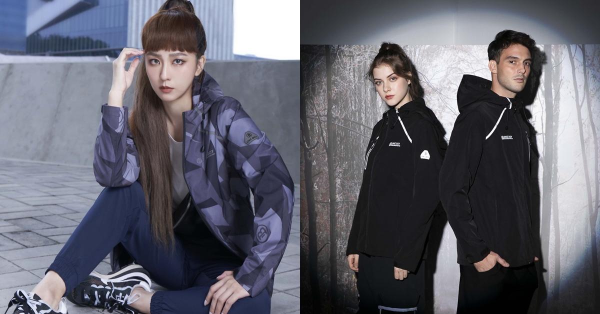 「國民外套」ONE BOY 新推出2021輕鋒衣系列,不但好看、實穿又便宜,偶像劇女神周曉涵愛到直接包色!
