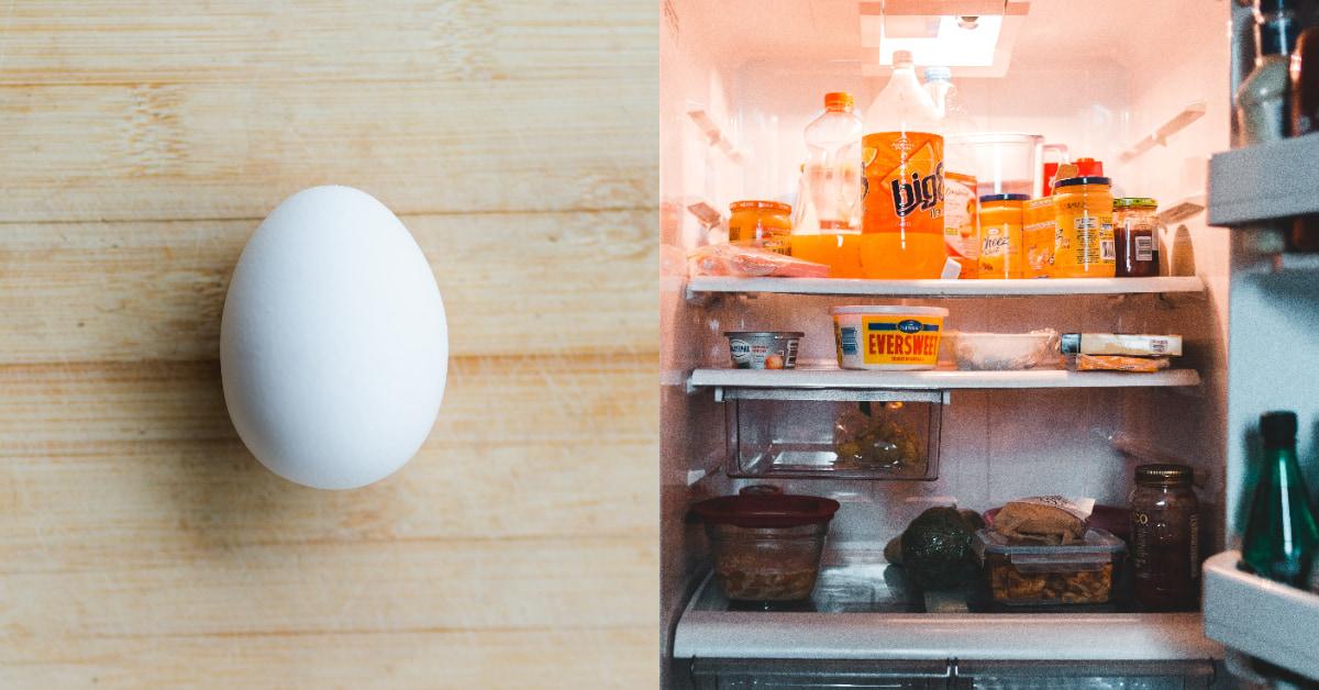 雞蛋放冰箱可以放多久?蛋蛋保存掌握4點,「洗蛋」是大忌、「放蛋架」更容易有損傷!