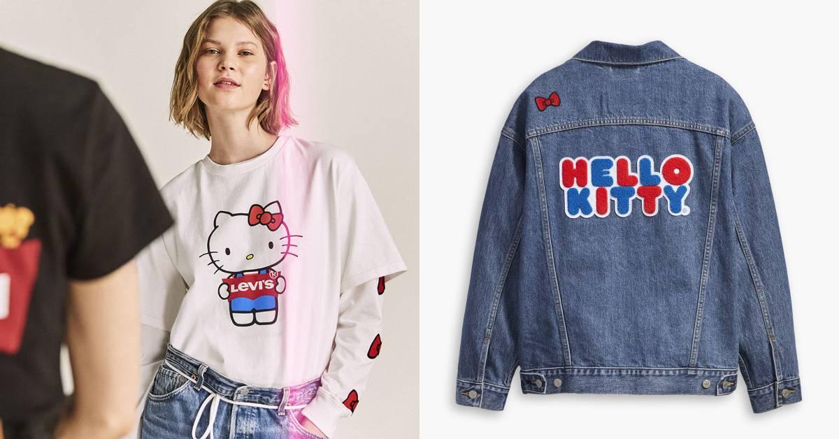 Hello Kitty也能這麼帥?與Levi's聯名系列即將發售,牛仔外套必搶