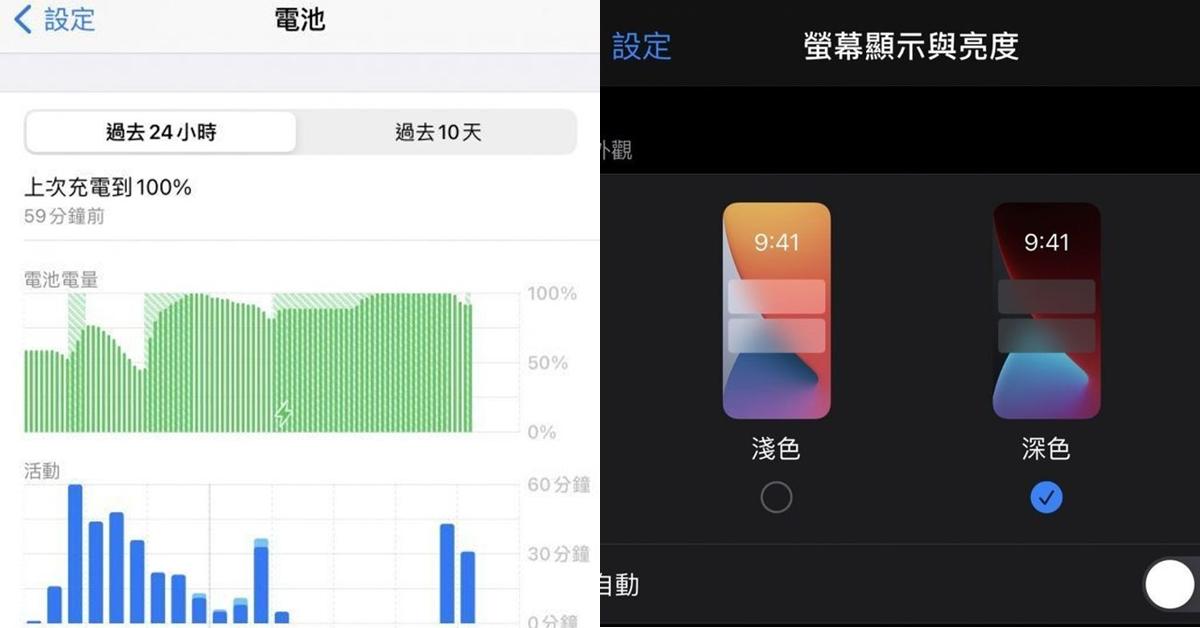 手機電量一直耗?教你iPhone「省電妙招」Top10,深色模式、淺色模式差很多!