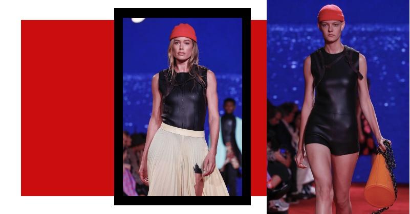 「潛水衣」也能當外出服穿?Calvin Klein 在紐約時裝周的新Idea跌破你眼鏡