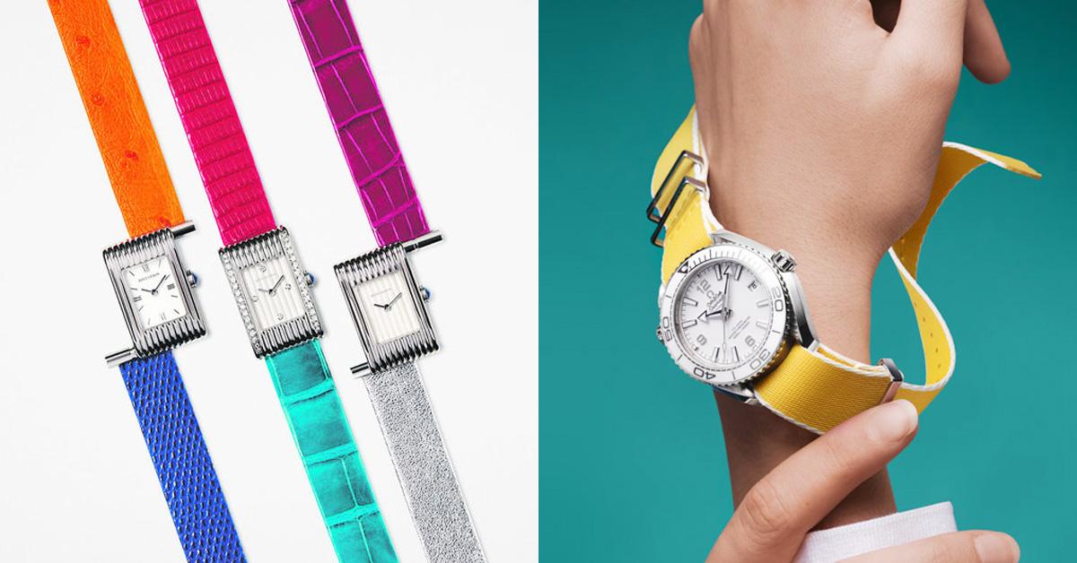 卡地亞、寶格麗到Tiffany都加入彩色行列!每天換錶帶,就像每天戴上新手錶