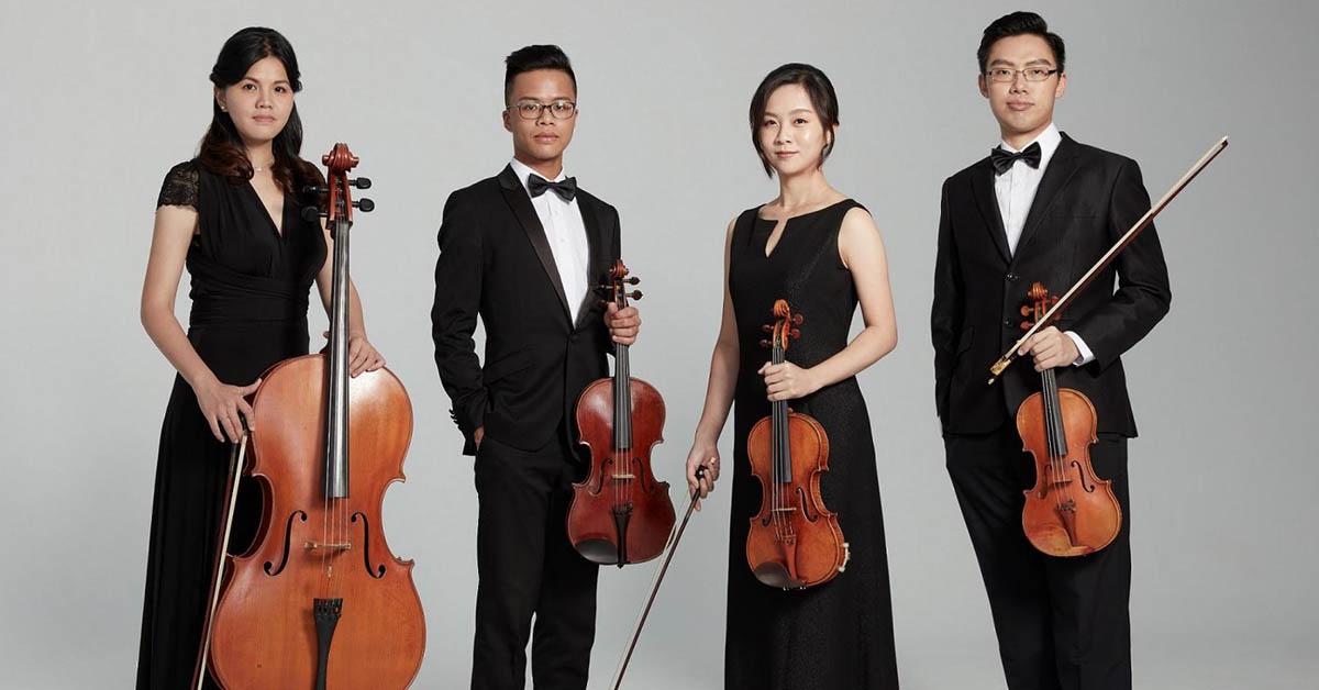 2019誠品室內樂節,世界上最偉大弦樂組合睽違14年來台!風靡歐洲的韓國歐巴四重奏首襲台