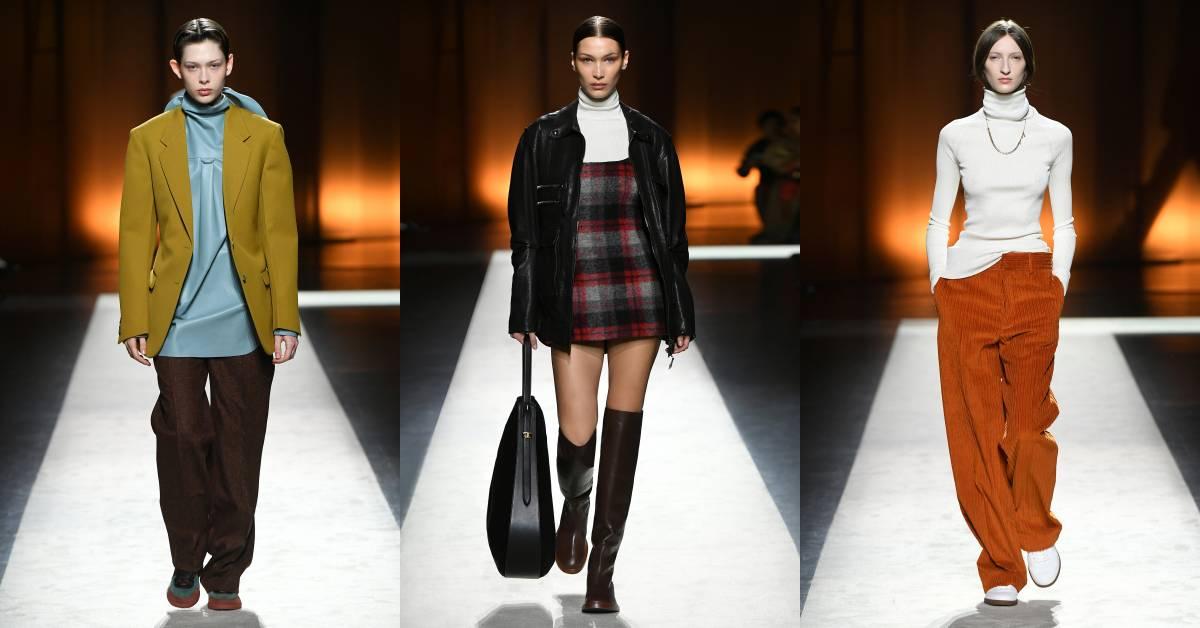 西裝外套、襯衫、高領毛衣也能這樣搭?Tod's 2020秋冬大秀根本是時髦OL的穿搭教科書!