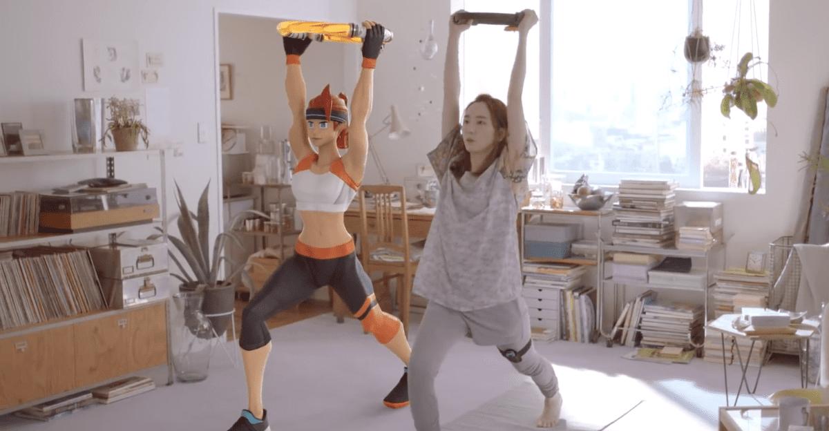 懶女孩快搶!任天堂Switch推《健身環大冒險》,超過40種健身招式在家輕鬆燃脂