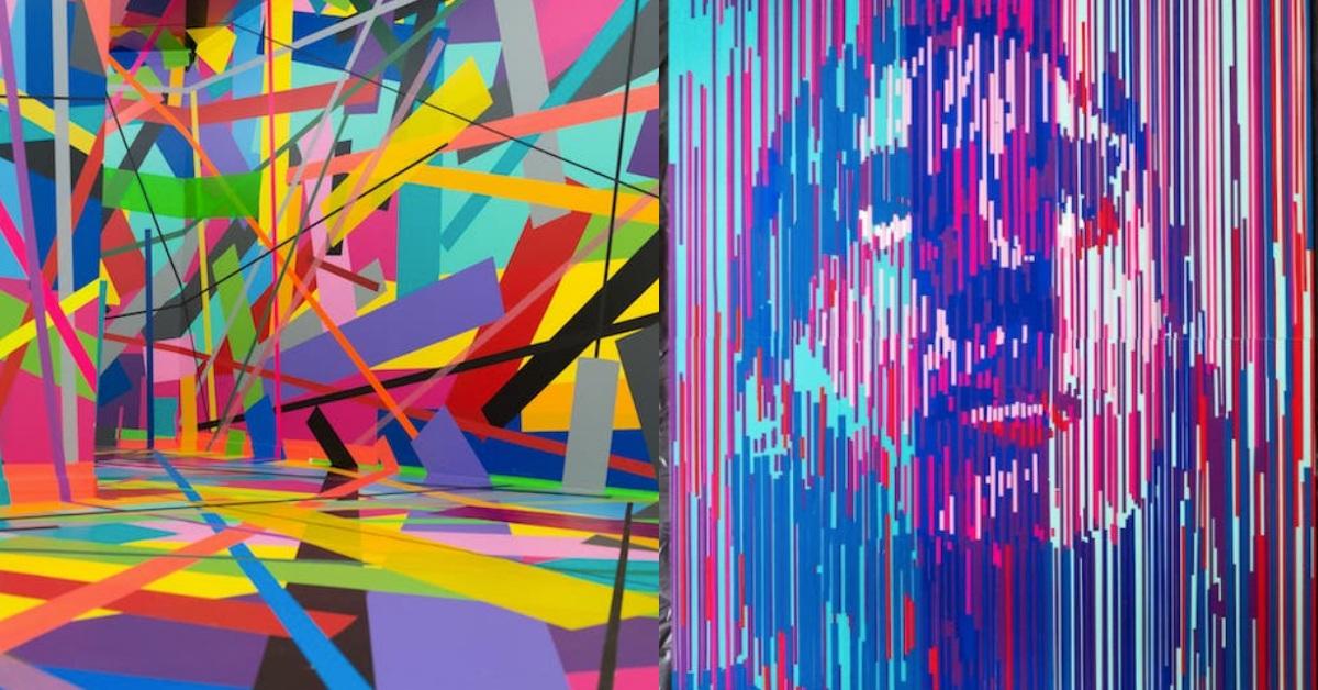 膠帶也能變成裝置藝術!柏林爆紅超酷「聚膠行動#TapeArt全球首展」在松菸