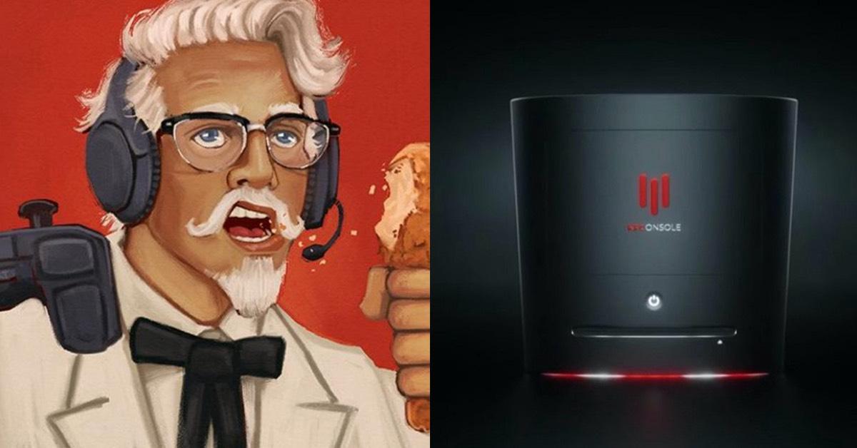 肯德基KFC出「KFConsole」遊戲機?主機形象片釋出造成轟動,肯德基:增加你的飢餓感!