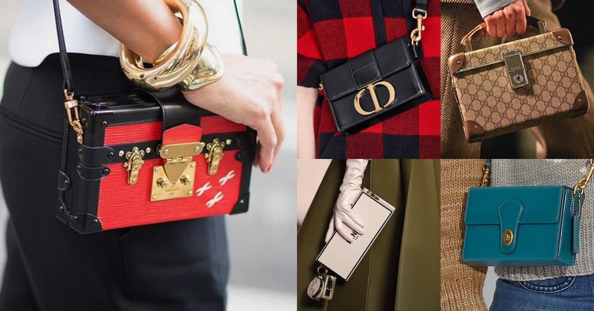「方盒包」推薦Top 6 !LV 、Dior、Fendi...Chloé新任創意總監個人品牌更是一包難求