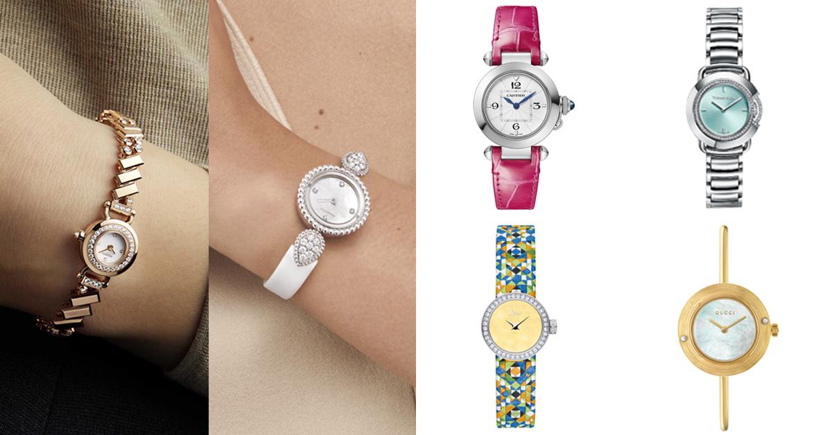 圓錶母親節推薦這11款!寶格麗、卡地亞、梵克雅寶...「Gucci Play」是品牌進軍高級腕錶的代表之作