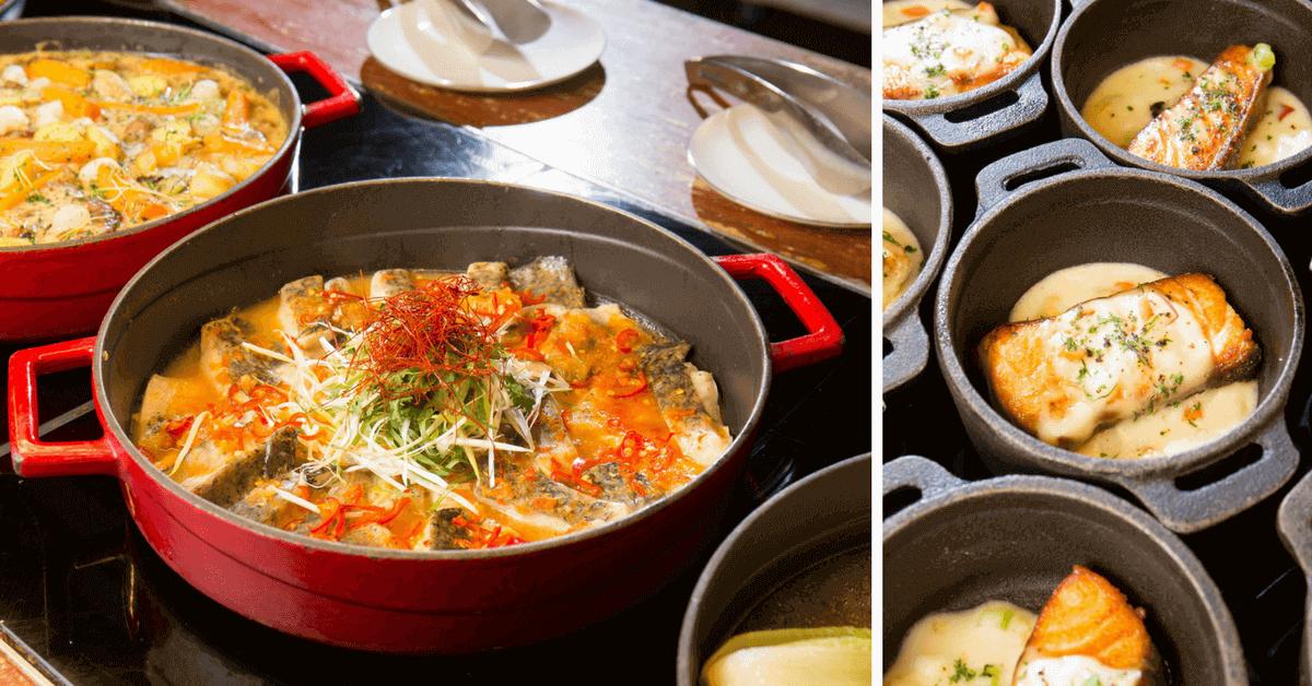 忙裡偷閒的迷你貴族饗宴!「文華Café」推 $1600午間自助吧 現做海南雞飯、南歐慢燉料理、繽紛壽司與甜點是大亮點!