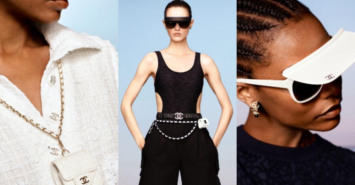 香奈兒Chanel 2021度假系列新品報到,有「遮陽帽」的墨鏡、超迷你小包,女孩永遠存不了錢!
