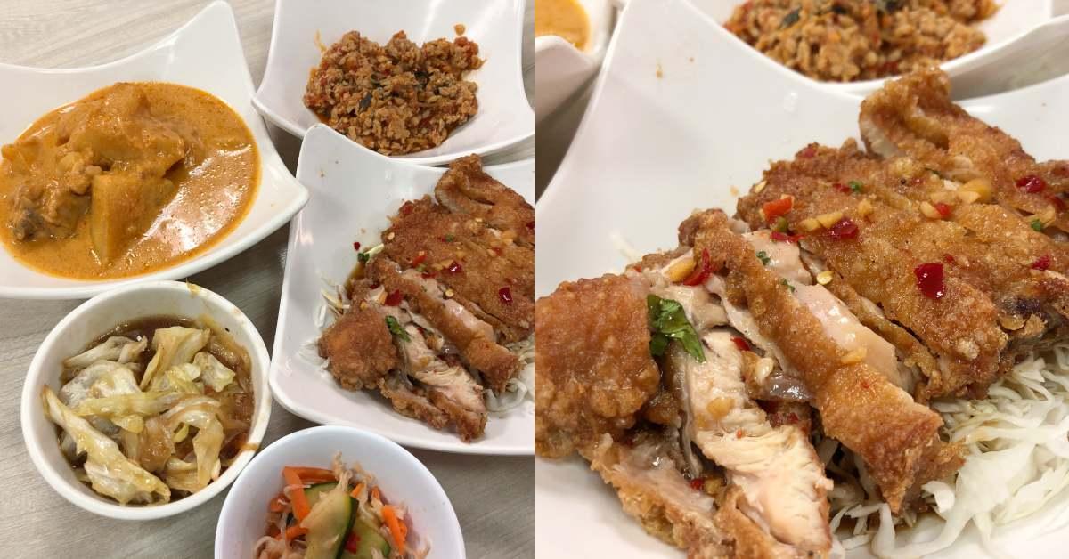 【食間到】中山區上班族最愛!《銀魚泰國料理》椒麻雞一吃就愛上,超狂100元吃到飽!