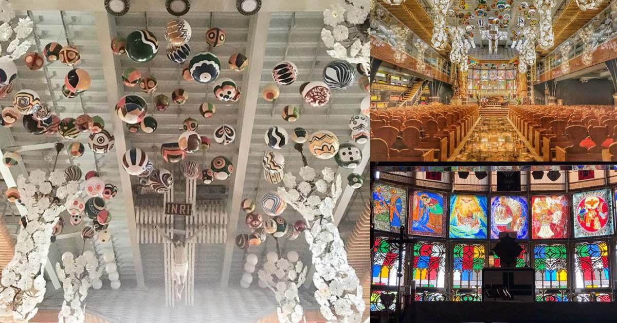 屏東打卡新景點!泰武「佳平法蒂瑪聖母堂」入選「世界百大特色教堂」,神父當起設計師