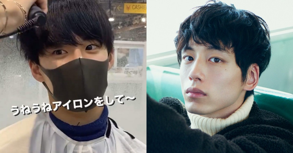 日韓網友都在問!日本高中生鮮肉脫下口罩的帥氣真面目,激似男星坂口健太郎+杉野遙亮!
