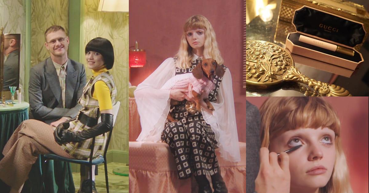 妳刷睫毛膏的方式都錯了!Gucci全球化妝師教妳「二合一」上妝術,輕鬆擺脫蟑螂腳!
