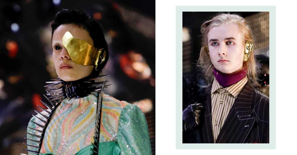 面具、鉚釘配套裝?Gucci在米蘭時裝周辦一場最時髦的化裝舞會