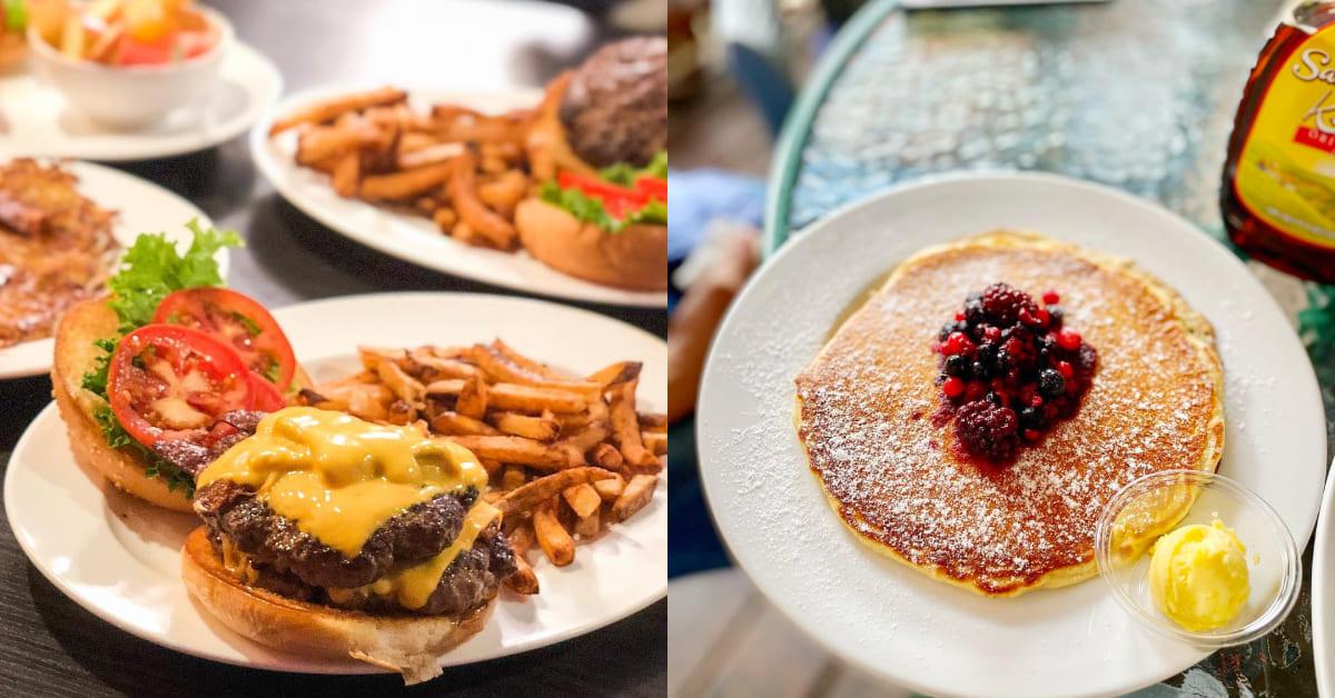 台中早午餐推薦「雙城美式餐廳」班尼迪克蛋薯餅 、奶昔太道地,外國人認證很OK