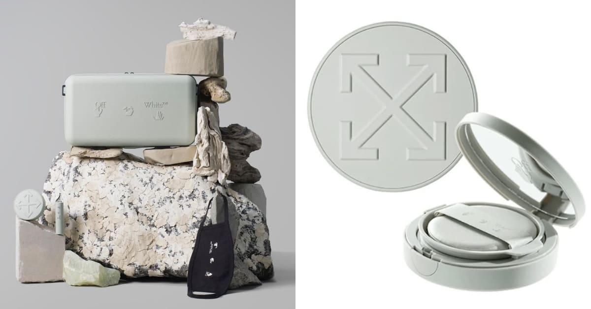Off-White潮牌跨足美妝!攜手蘭芝母公司推「彩妝化妝箱」,氣墊專家加持一顆難求