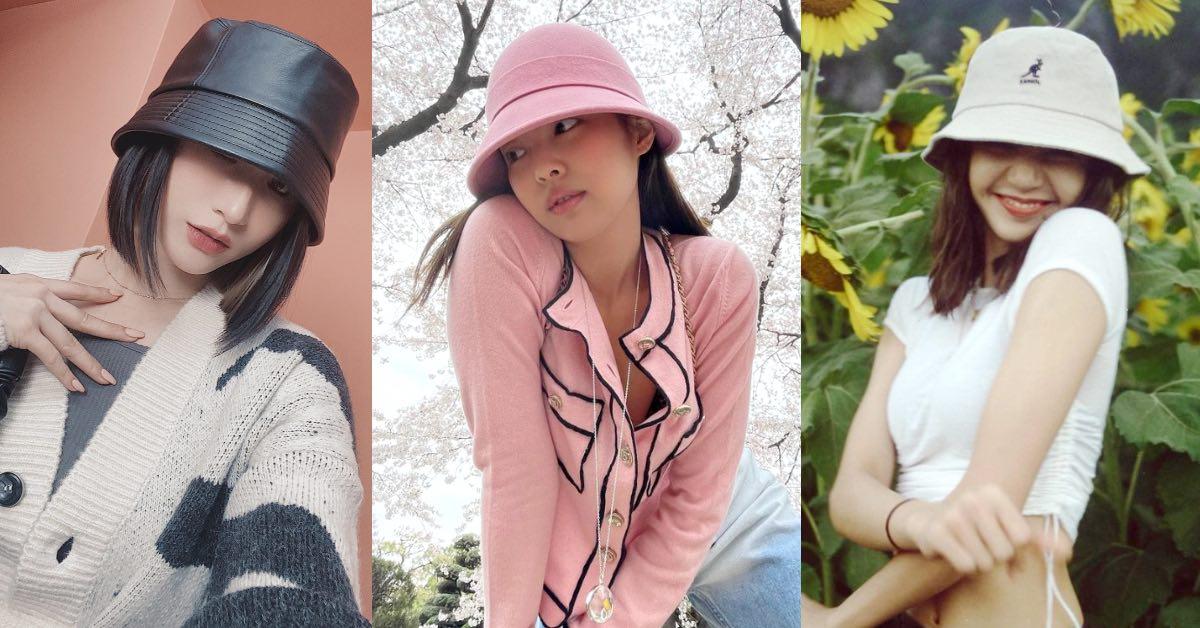 帽子穿搭推薦「漁夫帽」5種Look,BLACKPINK Lisa、楊丞琳...油頭救星就是它